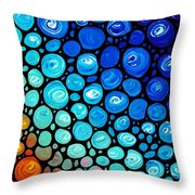 Abstract 2 Throw Pillow by Sharon Cummings