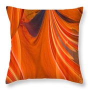 Abstract 201 Throw Pillow