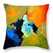 Abstract 211102 Throw Pillow