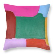 Abstract 216 Throw Pillow by Patrick J Murphy