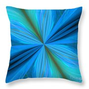 Abstract 221 Throw Pillow