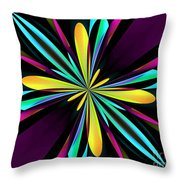 Abstract 222 Throw Pillow