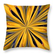 Abstract 227 Throw Pillow