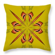 Abstract 234 Throw Pillow