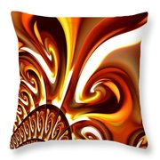 Abstract 235 Throw Pillow