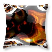 Abstract 236 Throw Pillow