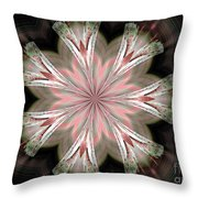 Abstract 261 Throw Pillow
