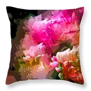 Abstract 272 Throw Pillow