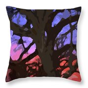 Abstract 284 Throw Pillow