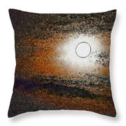 Abstract 287 Throw Pillow
