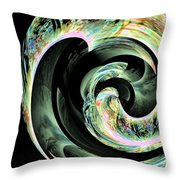 Abstract 291 Throw Pillow