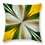 Abstract 296 Throw Pillow