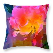 Abstract 299 Throw Pillow