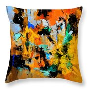 Abstract 315002 Throw Pillow