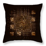Abstract 326 Throw Pillow