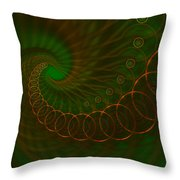 Abstract 340 Throw Pillow