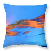 Abstract 3419 Throw Pillow
