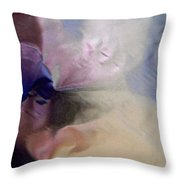 Abstract 3484 Throw Pillow
