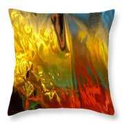 Abstract 3580 Throw Pillow