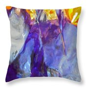 Abstract 3758 Throw Pillow