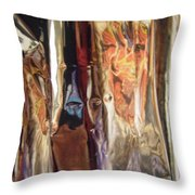 Abstract 3824 Throw Pillow