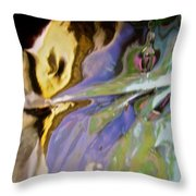 Abstract 3909 Throw Pillow
