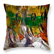 Abstract 3961 Throw Pillow