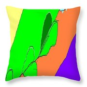 Abstract #4 Throw Pillow