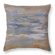 Abstract 408 Throw Pillow