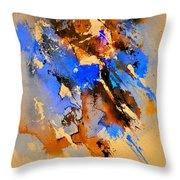 Abstract 4110212 Throw Pillow