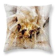 Abstract 414-08-13 Marucii Throw Pillow