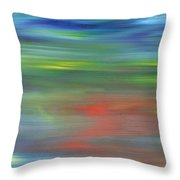 Abstract 421 Throw Pillow