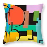 Abstract #44 Throw Pillow