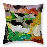Abstract 44501 Throw Pillow