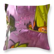 Abstract 4569 Throw Pillow
