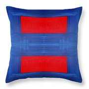 Abstract 477 Throw Pillow