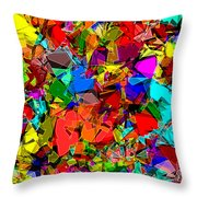 Astratto - Abstract 50 Throw Pillow