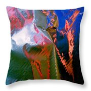 Abstract 5041 Throw Pillow
