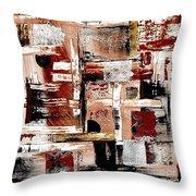 Abstract 524-11-13 Marucii Throw Pillow