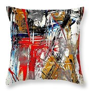 Abstract 526-11-13 Marucii Throw Pillow