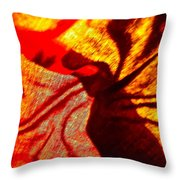 Abstract 5385 Throw Pillow