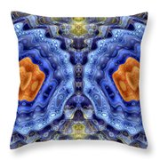 Abstract 5475-22 Throw Pillow