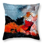 Abstract 553101 Throw Pillow