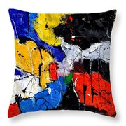 Abstract 55315080 Throw Pillow