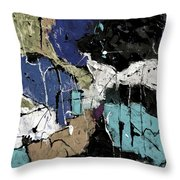 Abstract 553150802 Throw Pillow