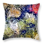 Abstract 63 Throw Pillow