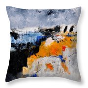 Abstract 66211142 Throw Pillow