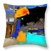 Abstract 664150 Throw Pillow