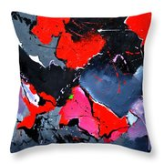 Abstract 673121 Throw Pillow