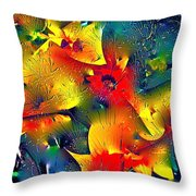 Abstract 69 Throw Pillow